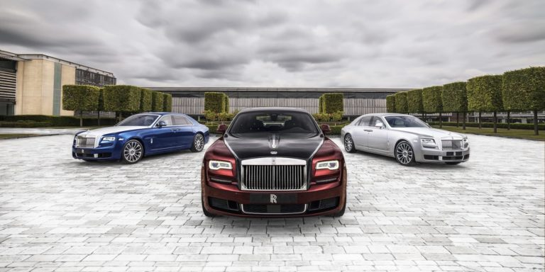 Rolls-Royce unveils limited-run Ghost Zenith collection