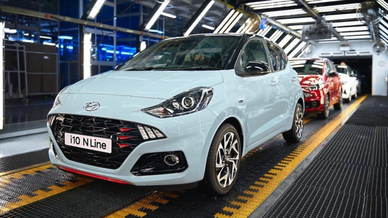 Hyundai reveals pricing for new i10 N Line specification