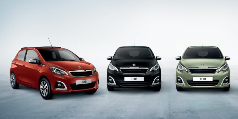 Peugeot 108 updated with new colours and options