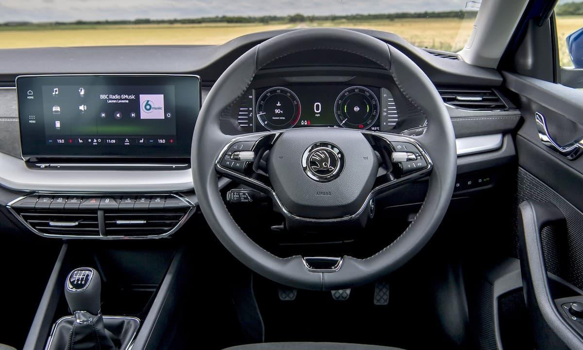 2020 Skoda Octavia estate review - interior and dashboard