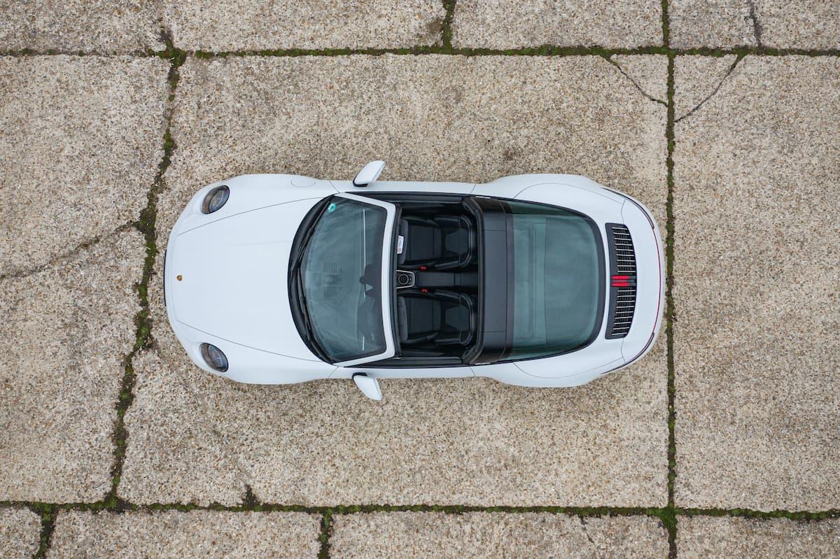 Porsche 911 Targa 4S review - overhead