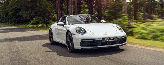 Porsche 911 Targa 4S review wallpaper