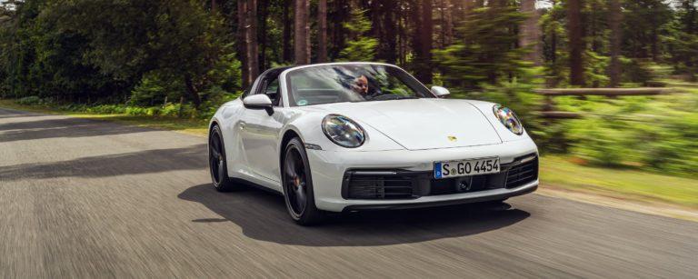 Porsche 911 Targa 4S test drive