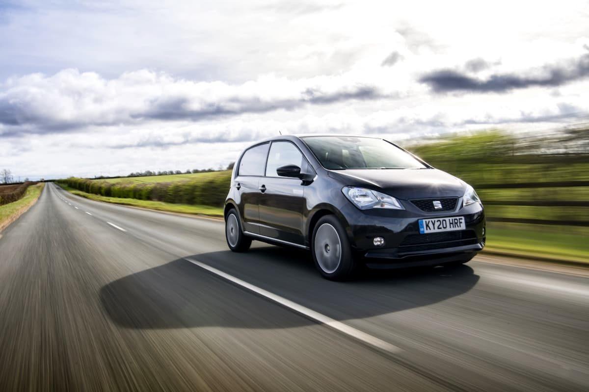 SEAT Mii Electric (2019 onwards) – front