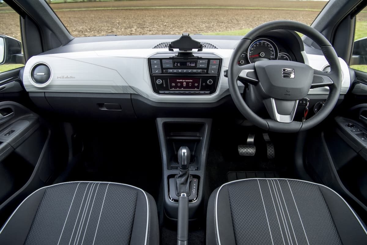 SEAT Mii Electric (2019 onwards) – interior and dashboard