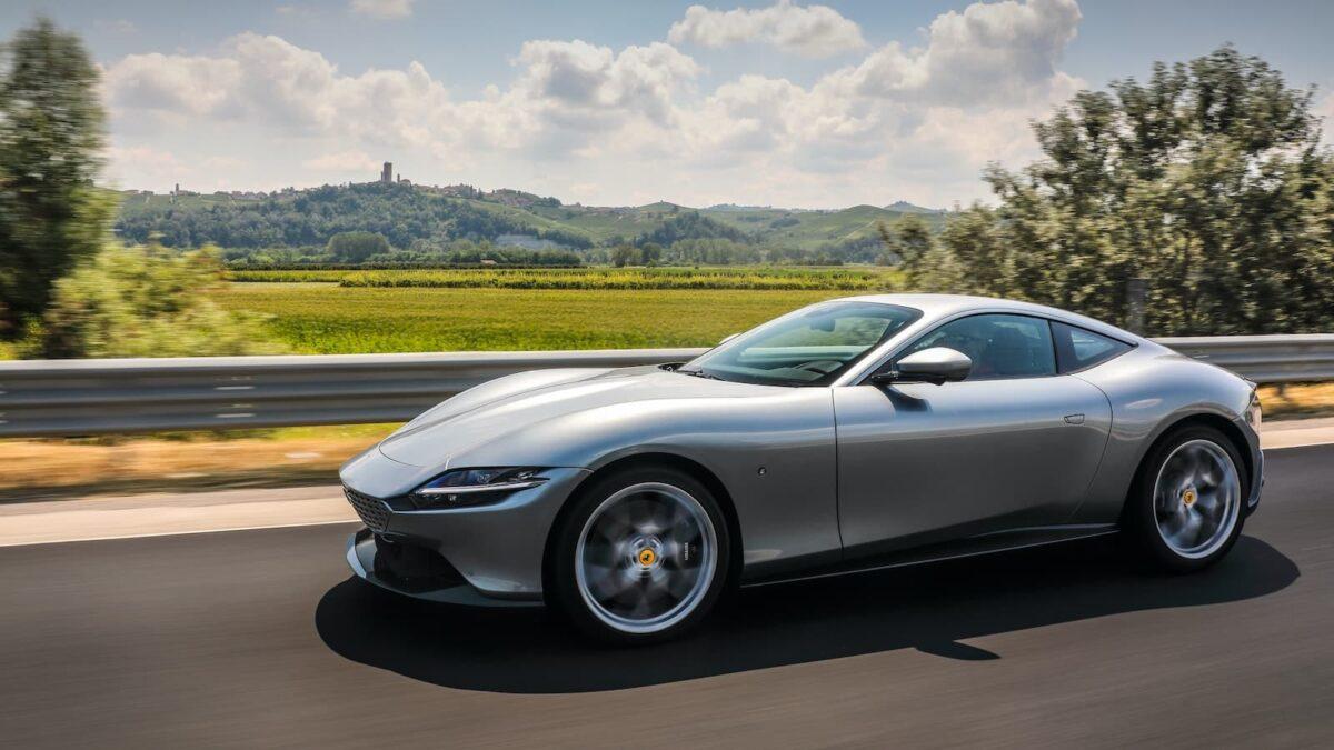 Ferrari Roma review 2020 - front