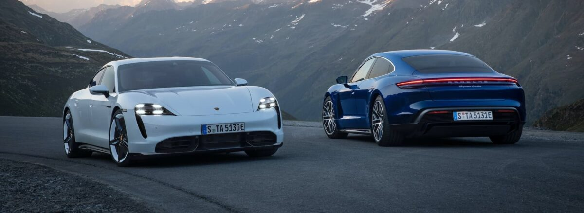 Porsche has given its Taycan electric saloon an update for 2021, bringing a series of changes and tweaks.