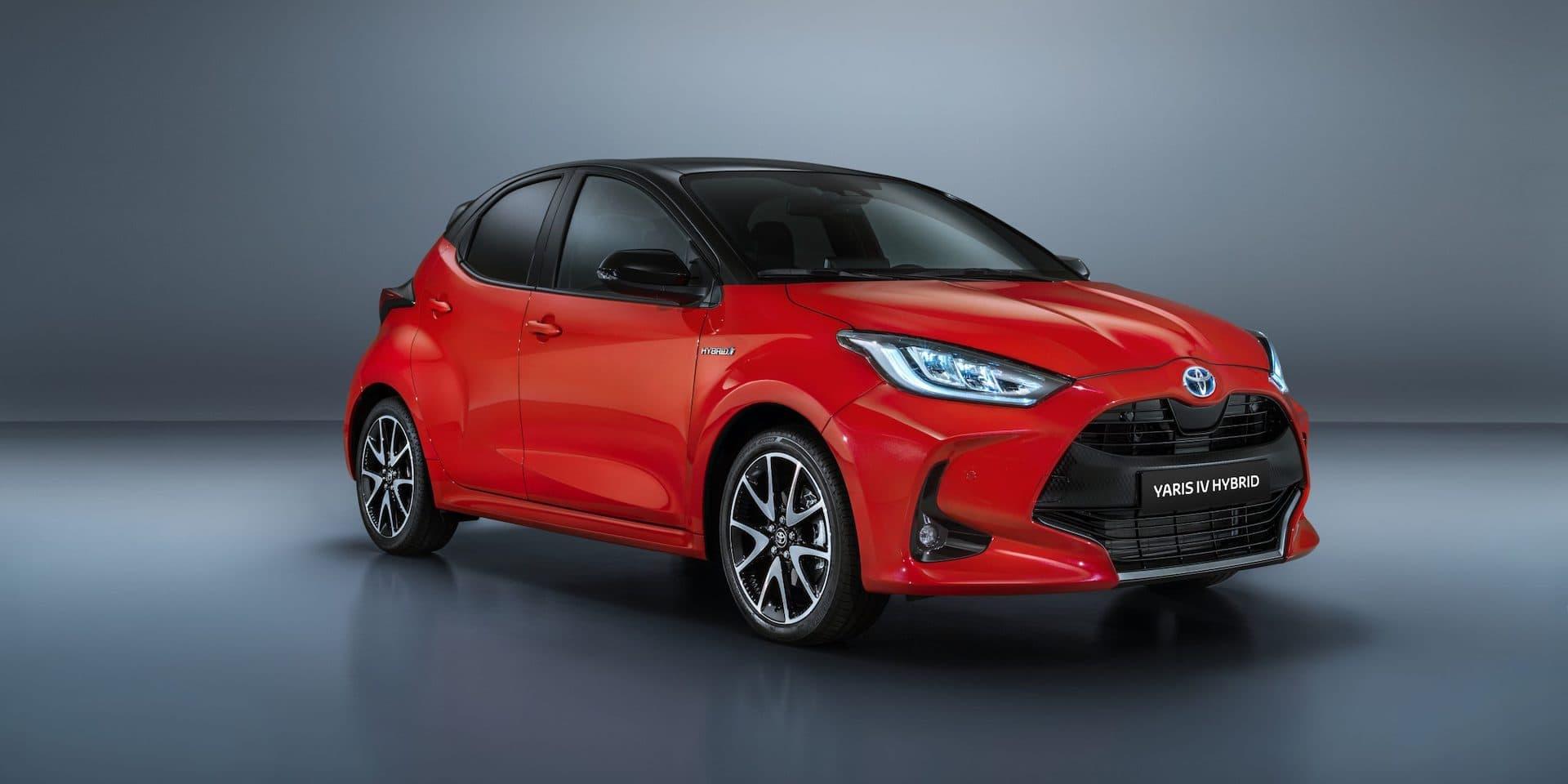 Toyota Yaris goes on sale 2020