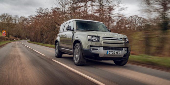 2021 Land Rover Defender 110 test drive