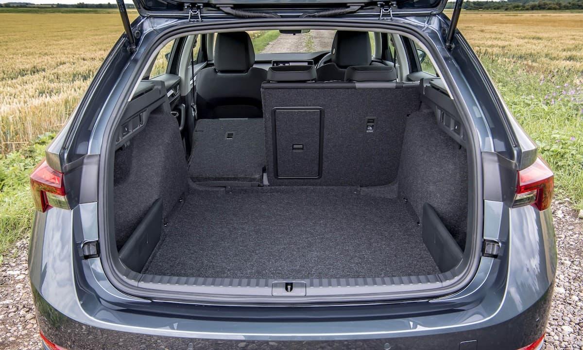 2020 Skoda Octavia estate review - boot space