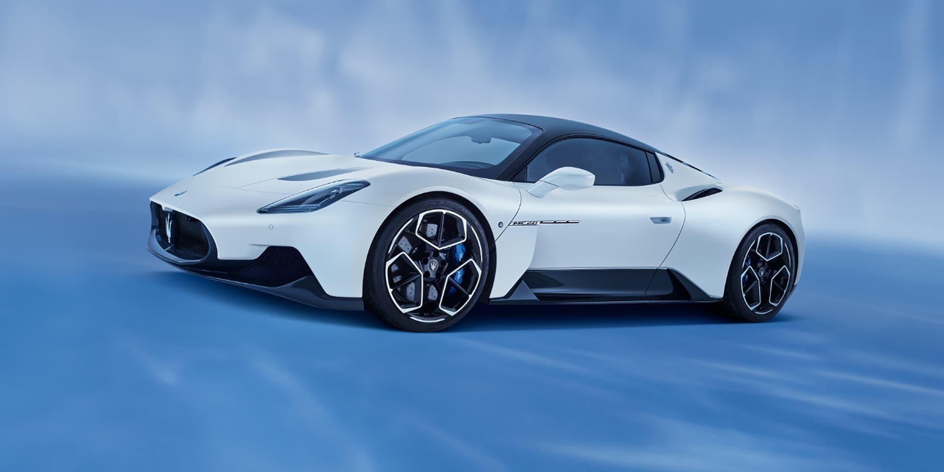 2021 Maserati MC20 revealed