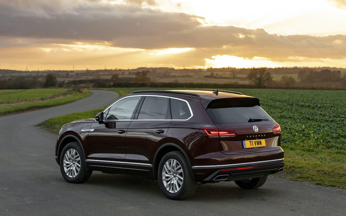 Volkswagen Touareg review 2020 - rear