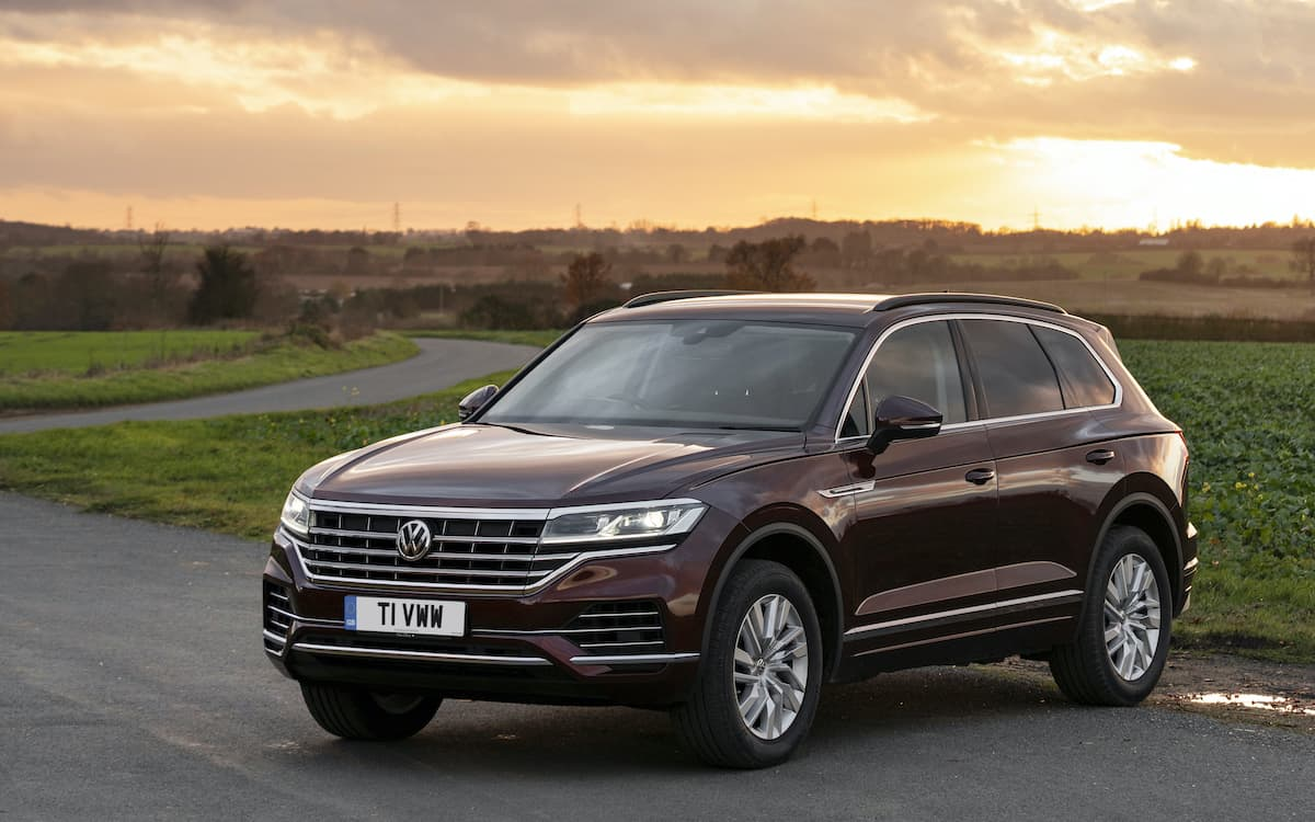 Volkswagen Touareg review 2020 - front