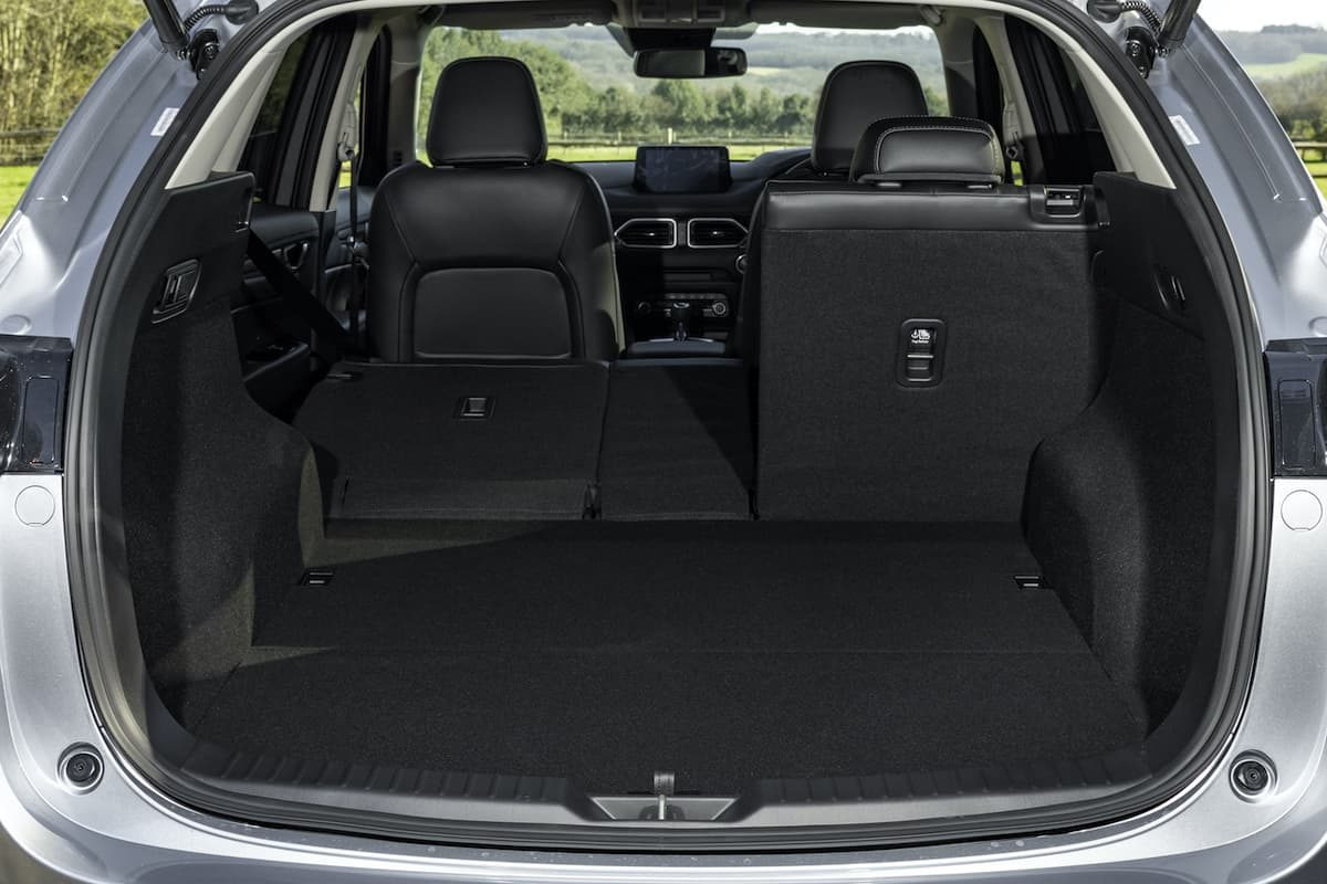 Mazda CX-5 review 2020 - boot space