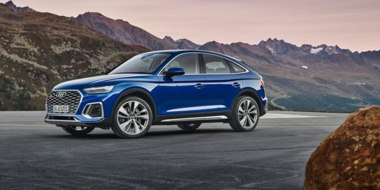 Audi Q5 Sportback is coupé-styled mid-size SUV