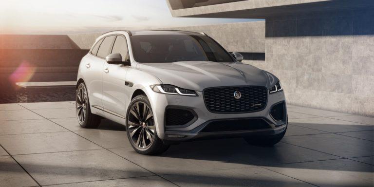 Updated Jaguar F-Pace plugs in