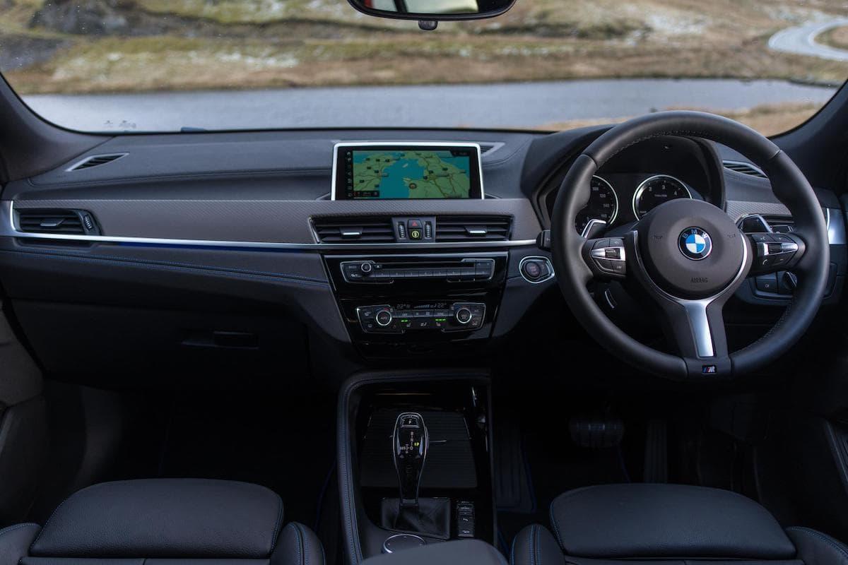 BMW X2 (2018 onwards) – interior and dashboard