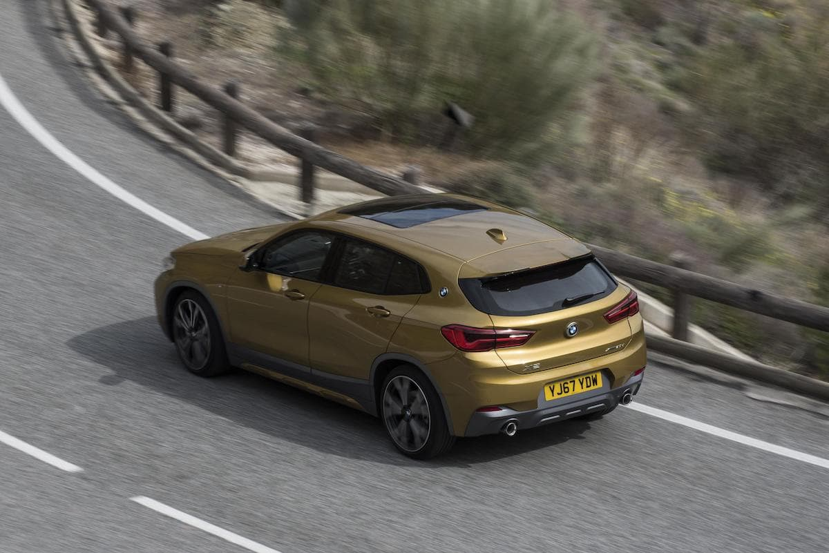 BMW X2 (2018 onwards) – rear view