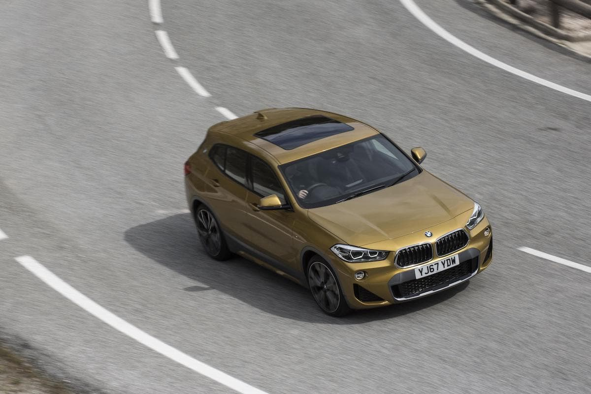 BMW X2 (2018 onwards) – front view
