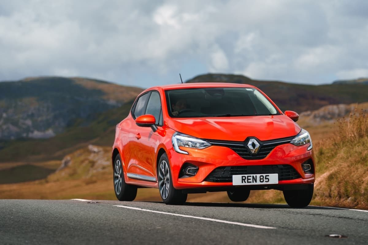 Renault Clio (2019 onwards) - front