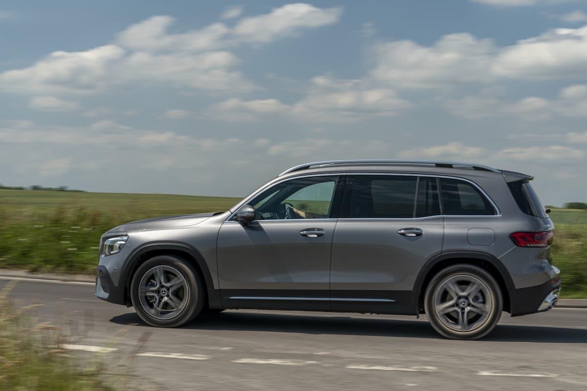 Mercedes-Benz GLB (2019 onwards) - side profile