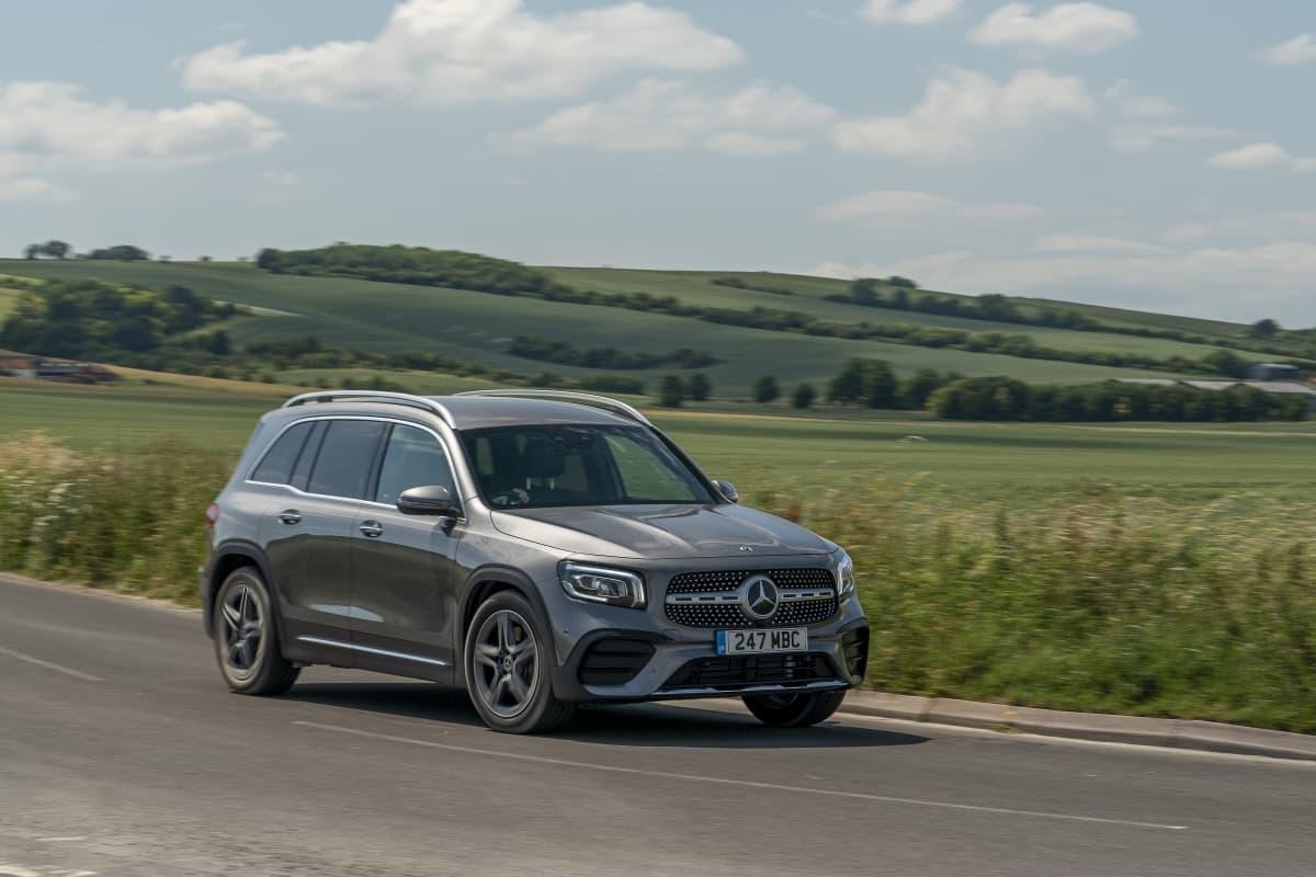Mercedes-Benz GLB (2019 onwards) - front