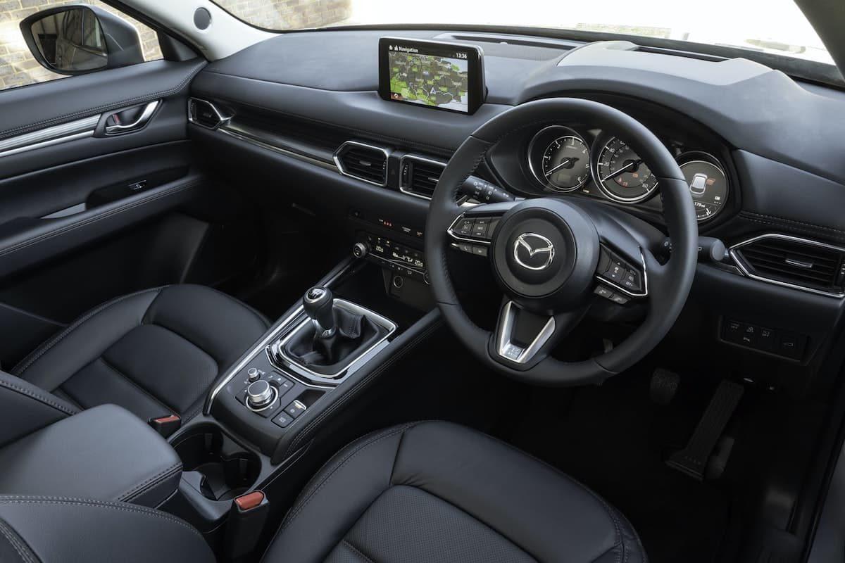 Mazda CX-5 review 2020 - interior and dashboard