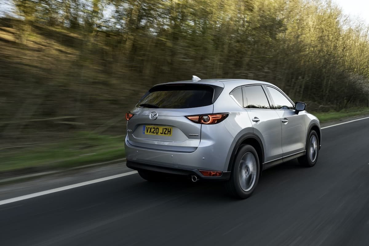 Mazda CX-5 road test 2020 - rear