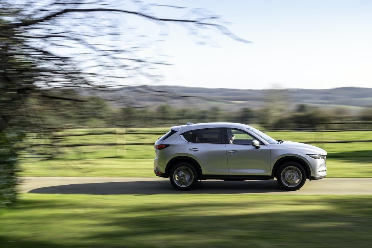 Mazda CX-5 road test 2020 - side profile