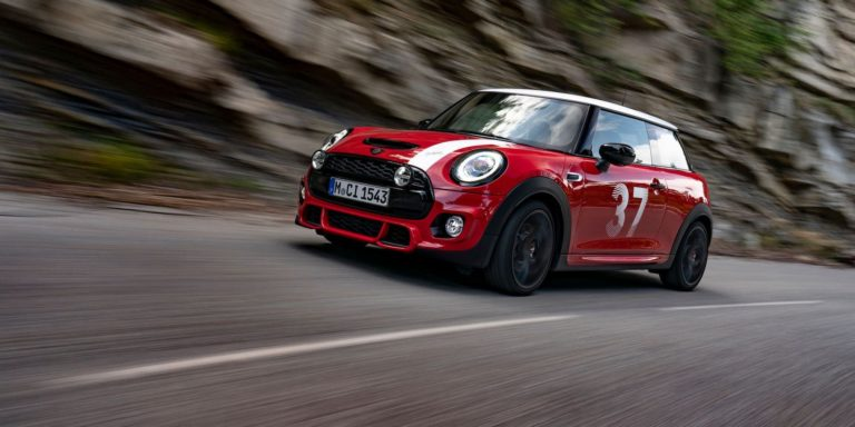 New Mini Paddy Hopkirk edition inspired by Monte Carlo win