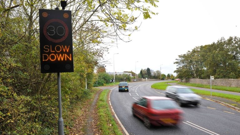 More than half of drivers exceed 30mph limit, says DfT