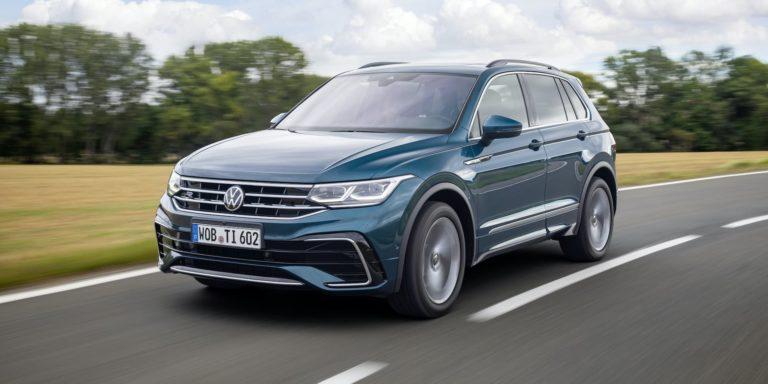 Updated Volkswagen Tiguan opens for ordering