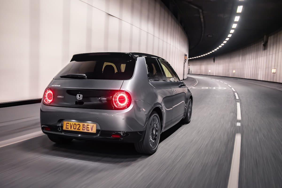 Honda e (2020 onwards) – rear