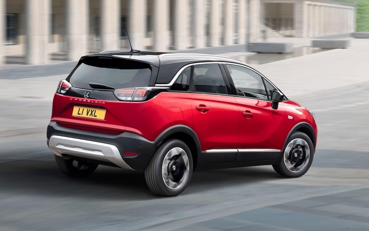 2021 Vauxhall Crossland - rear