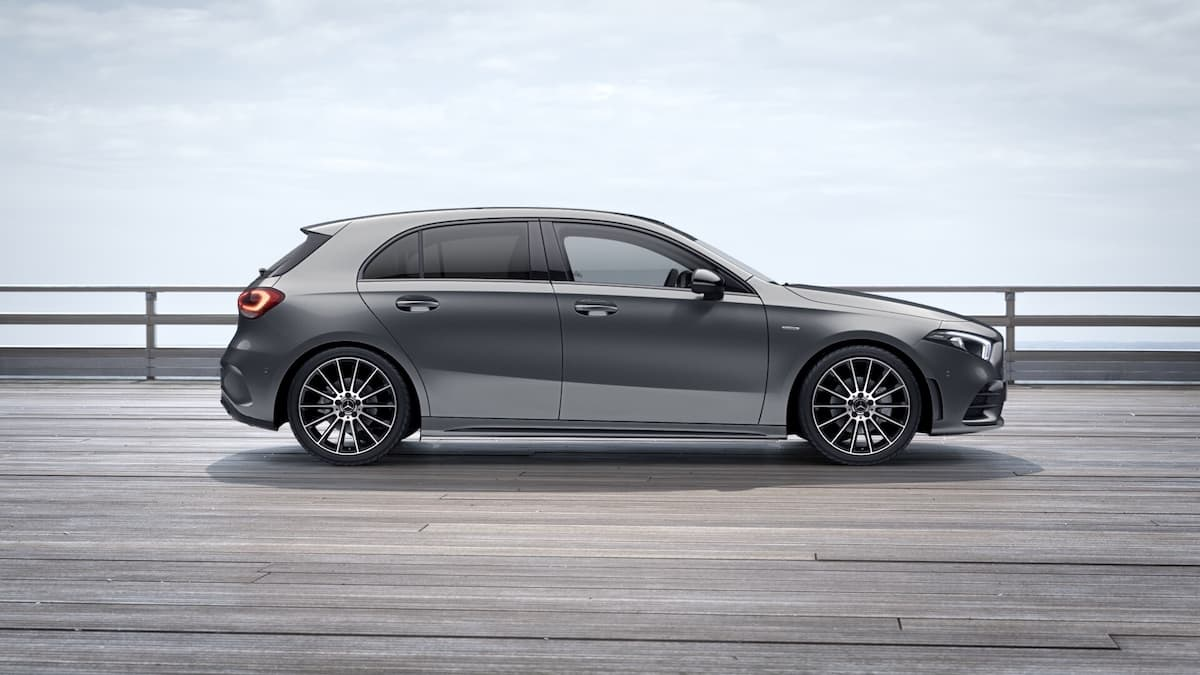 Mercedes-Benz A-Class Exclusive Edition - side profile