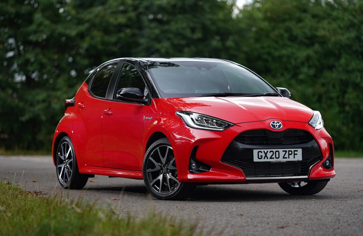 2020 Toyota Yaris review - front