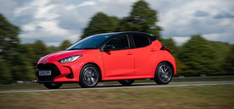 Toyota Yaris test drive