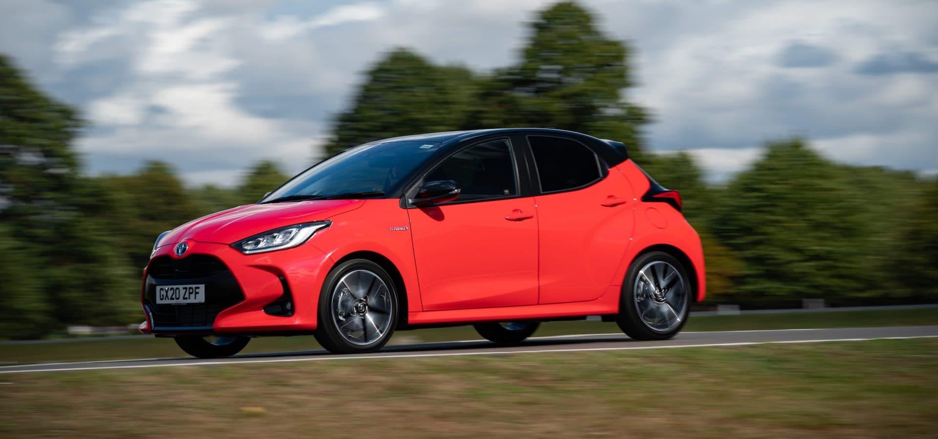 2020 Toyota Yaris review wallpaper