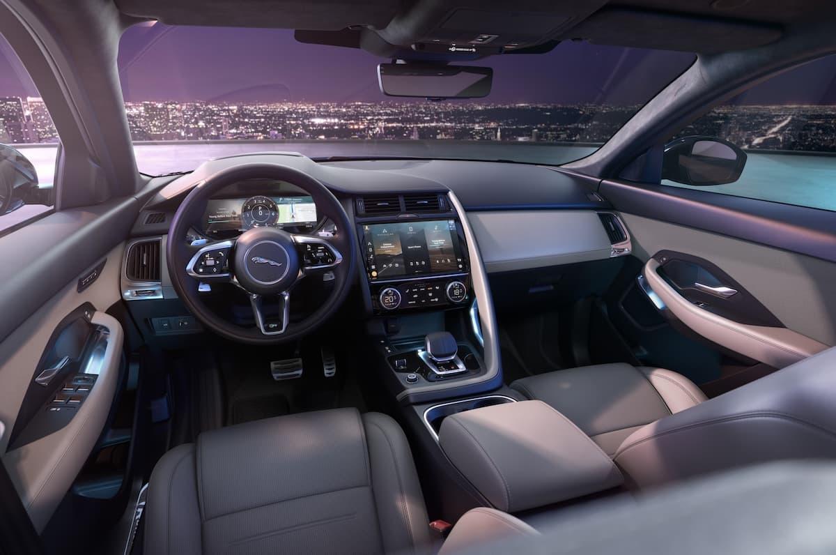 2021 Jaguar E-Pace - interior LHD