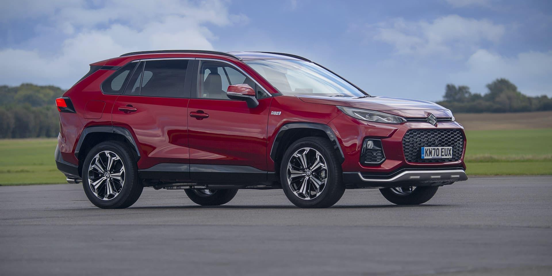 Suzuki Across plug-in hybrid SUV goes on sale in UK