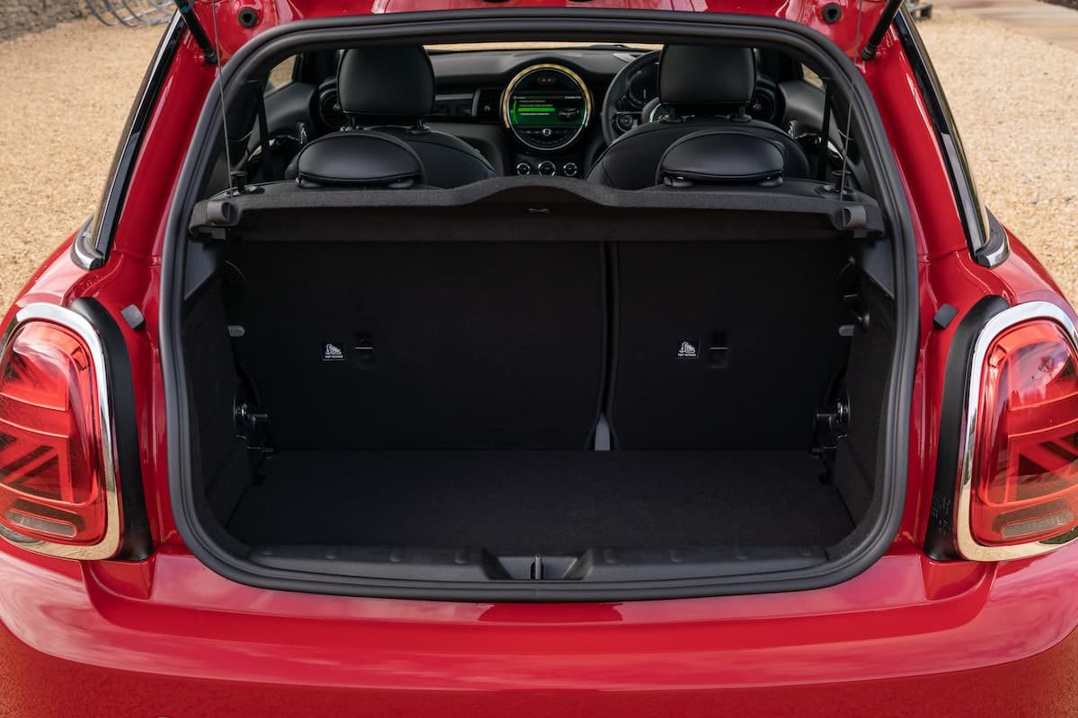 Mini Electric review 2020 - boot space