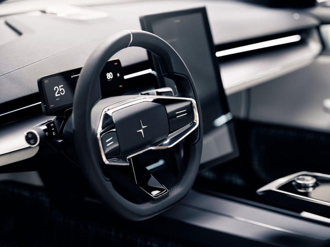 Polestar Precept concept, steering wheel