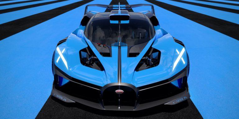 Bugatti Bolide brings 1,850hp to the track