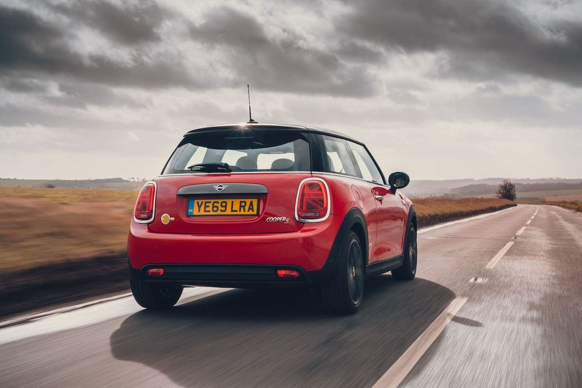 Mini Electric road test 2020 - rear
