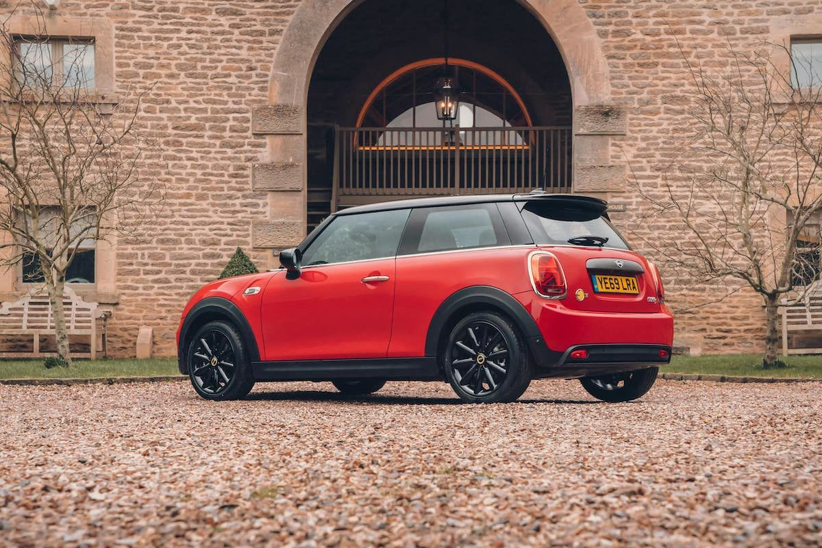 Mini Electric review 2020 - rear