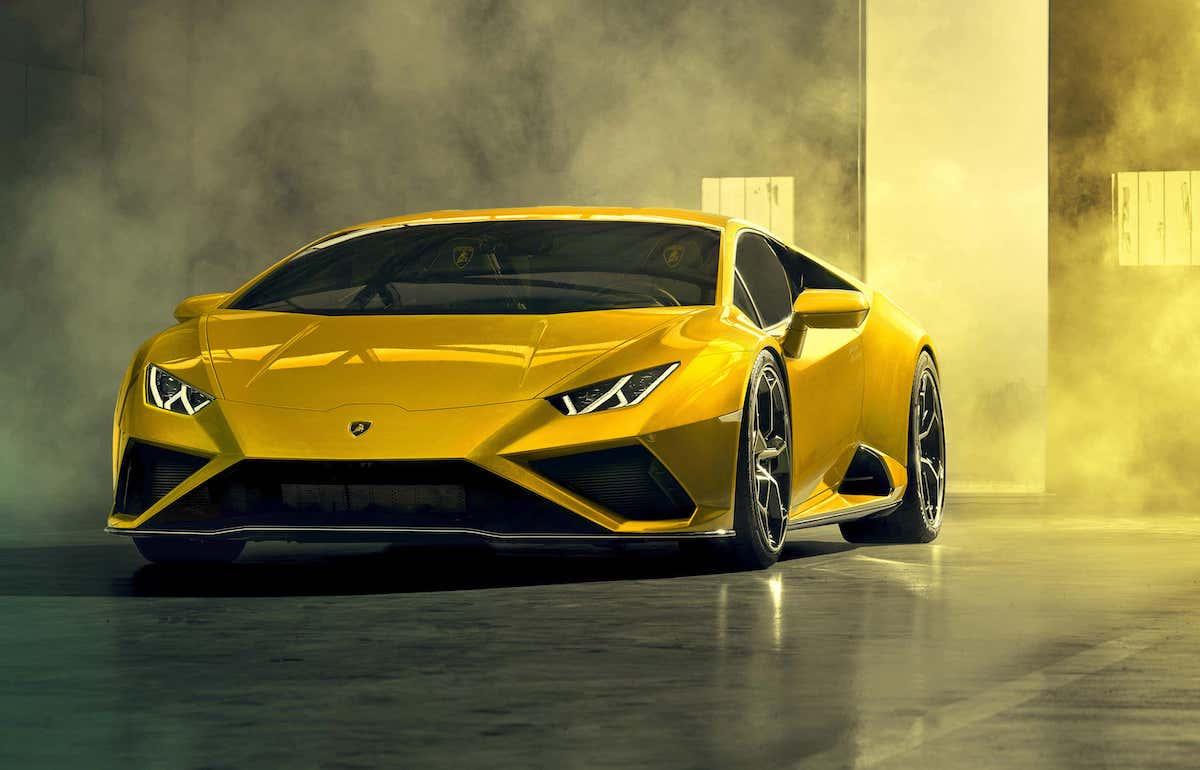 Lamborghini Huracan Evo RWD review - front