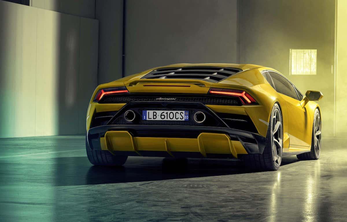 Lamborghini Huracan Evo RWD review - rear
