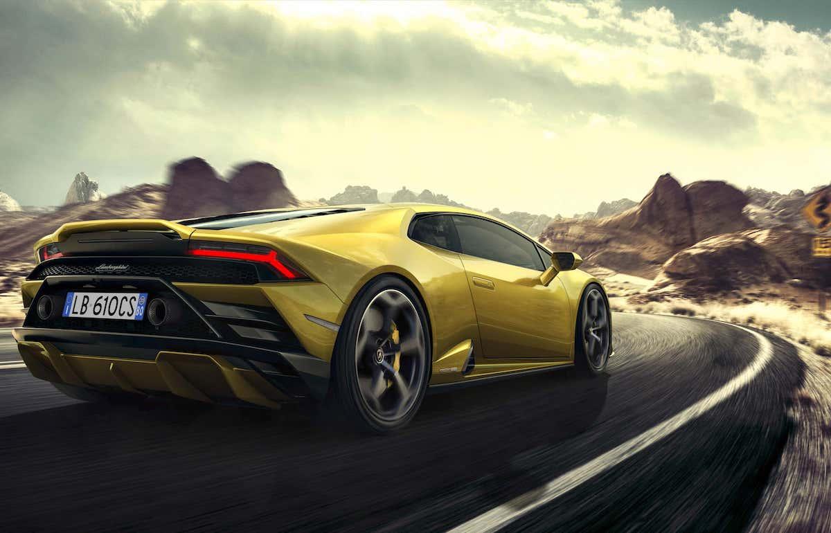 Lamborghini Huracan Evo RWD road test - rear
