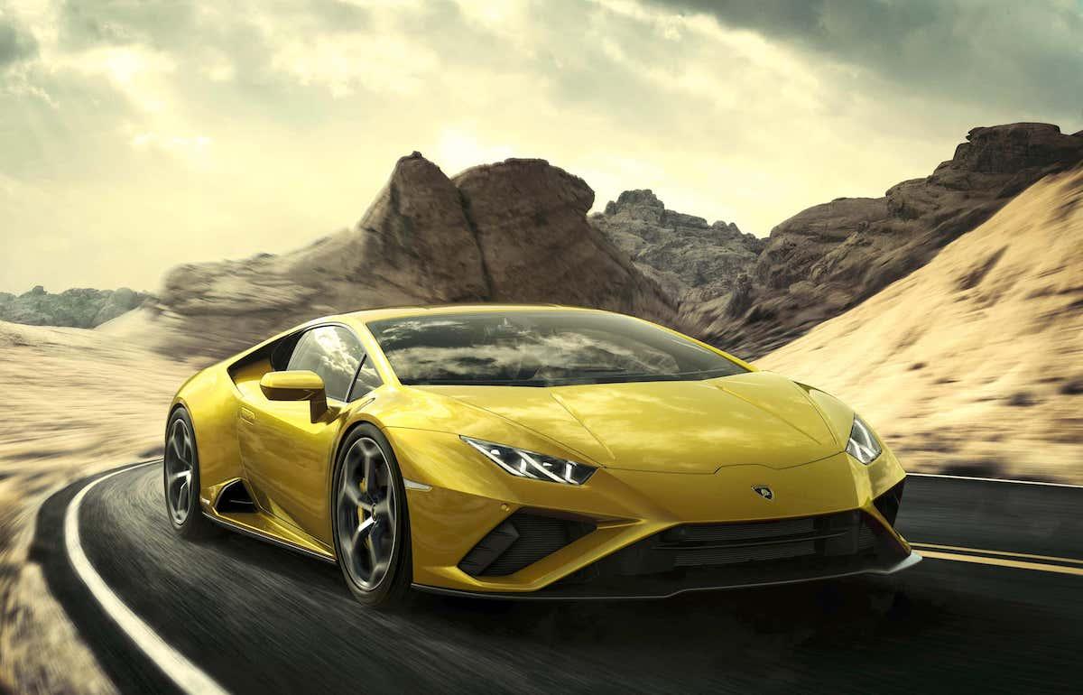 Lamborghini Huracan Evo RWD road test - front