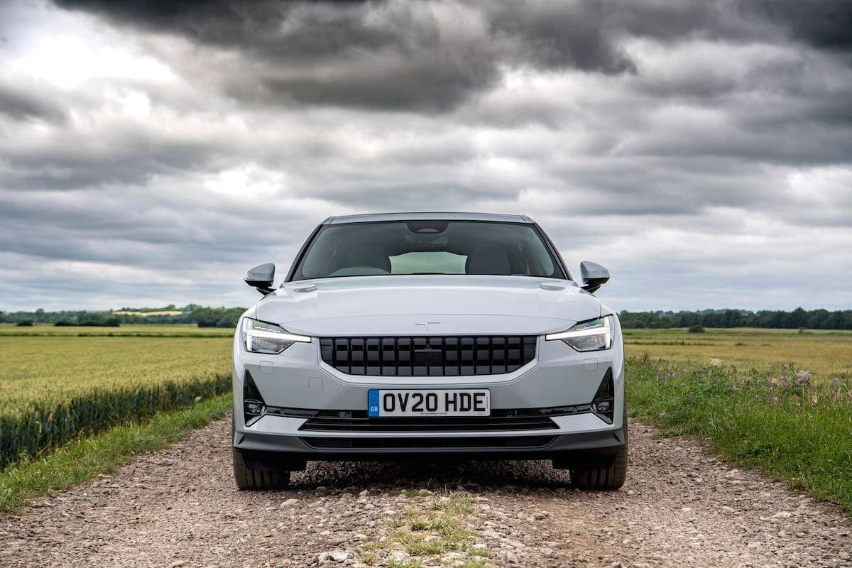 2020 Polestar 2 review - front